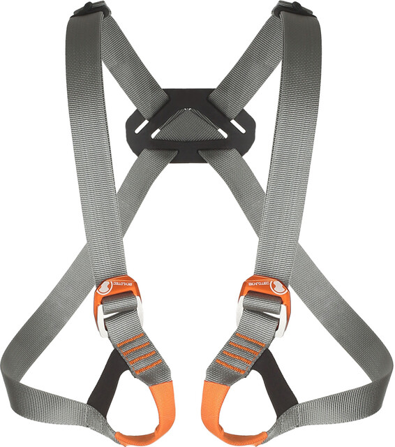 Skylotec Klettergurt : Skylotec dunit mini chest harness kids black anthracite campz